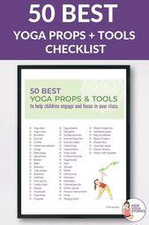 Best Kids Yoga Props to Help Children Engage   Focus | Kids Yoga Stories