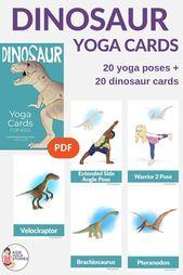 Dinosaur Yoga for Kids is here