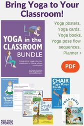 How to Do Yoga in your Classroom (Printable Poster) - Kids Yoga Stories   Yoga stories for kids