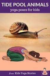 Tide Pool Animals Yoga