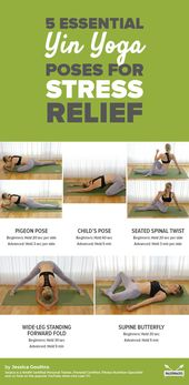 5 Easy Yin Yoga Poses to Melt Away Stress
