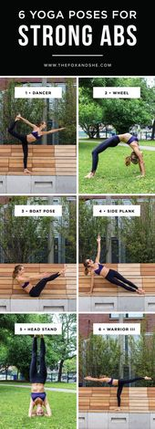 6 Yoga Poses for Strong Abs