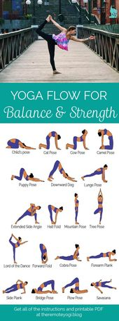 Yoga Sequence for Strength and Balance – Free PDF