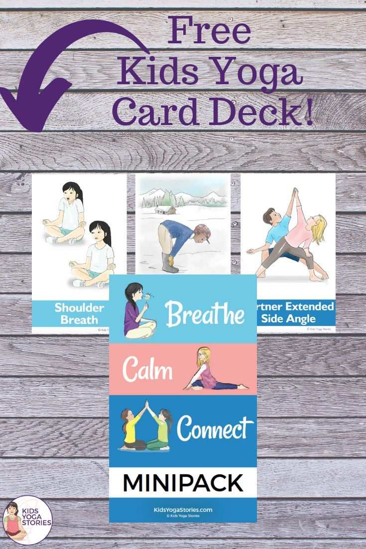 BREATH. CALM. CONNECT.  FREE Cards