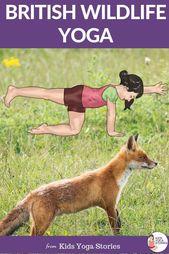 British Wildlife Yoga: Learn about England through Movement.