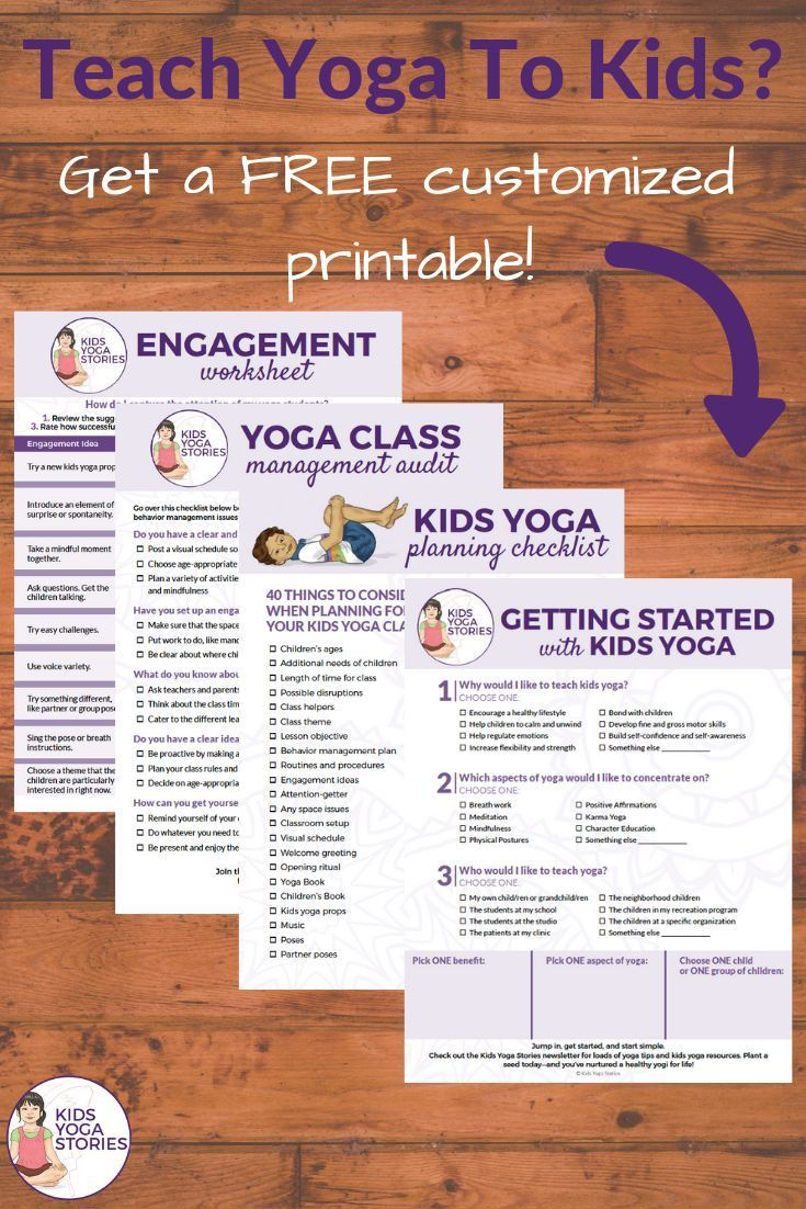 Teach Yoga to Kids... in the classroom or studio?
