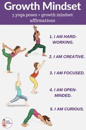 How to Build a Growth Mindset through Yoga Poses for Kids