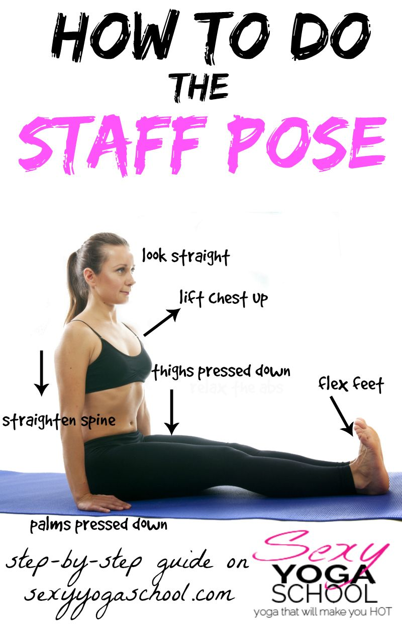 Dandasana Pose Benefits (Staff Pose or Stick Pose)
