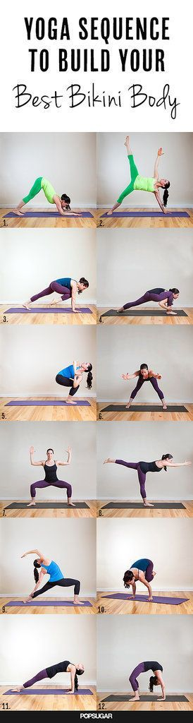 This Dynamic Yoga Sequence Will Help You Build a Stronger Body