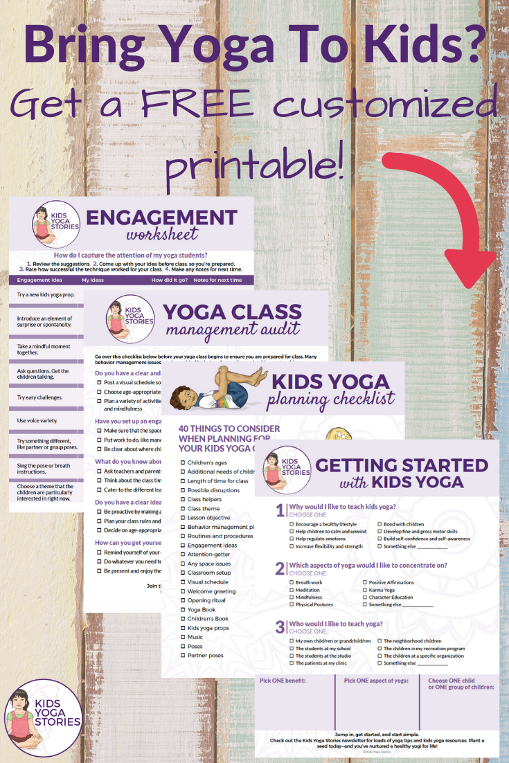 Bring Yoga to Your Classroom (FREE Printable)