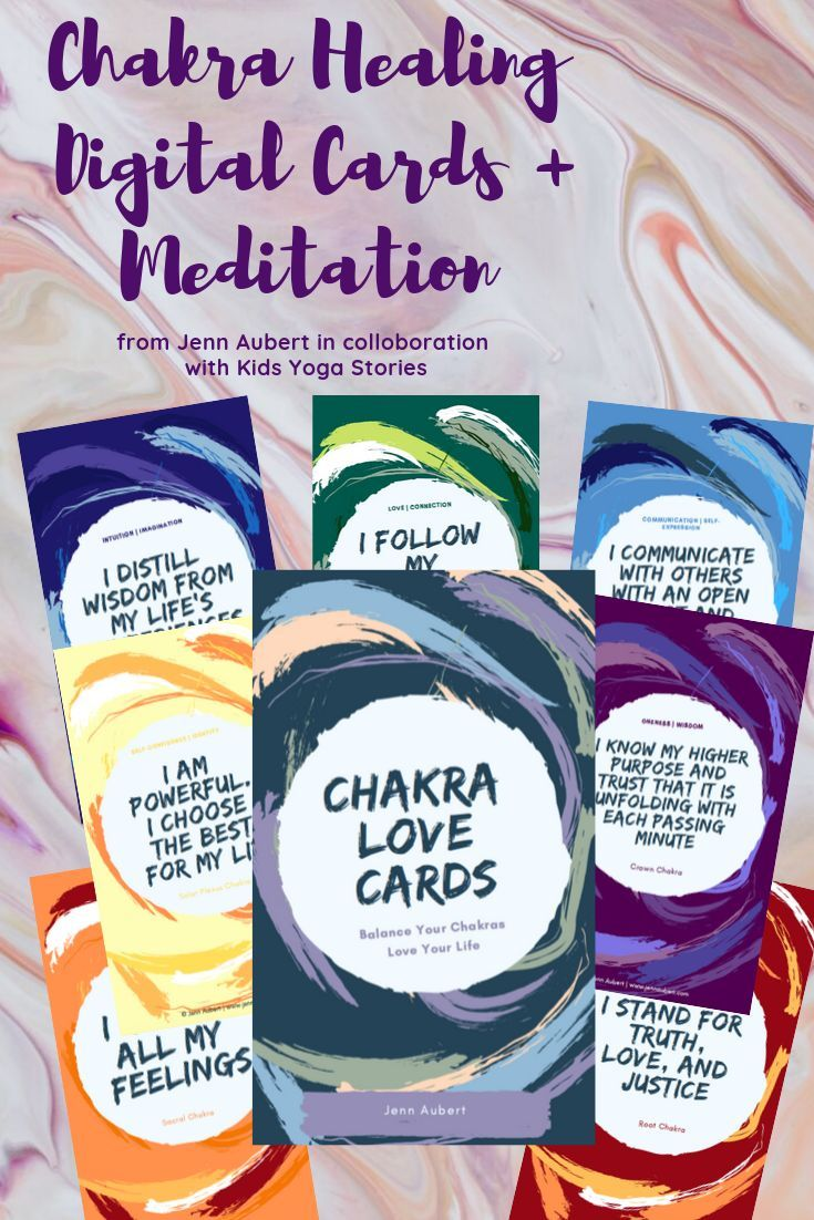 Chakra Love Cards for Grownups