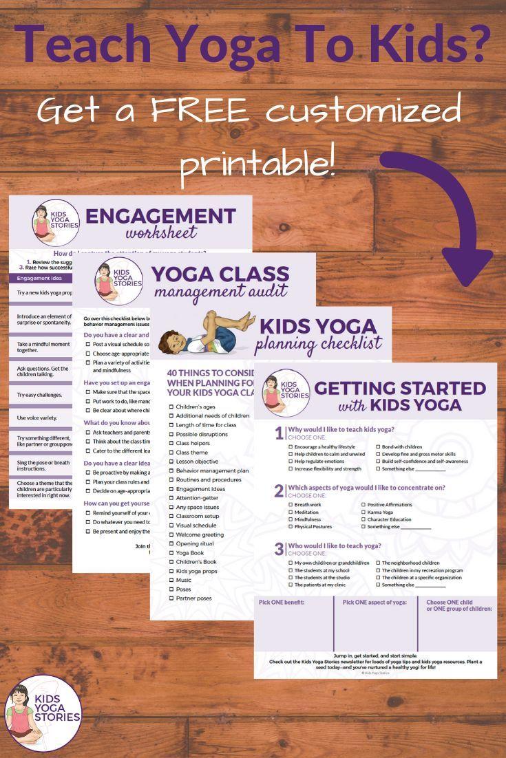 Teaching Kids Yoga