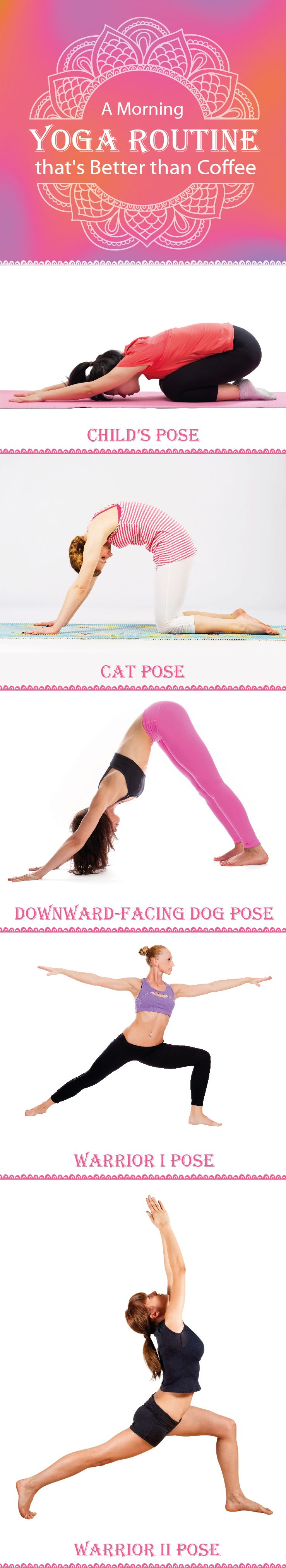 Wake up and face the day with energy and positivity! Our morning yoga routine is...