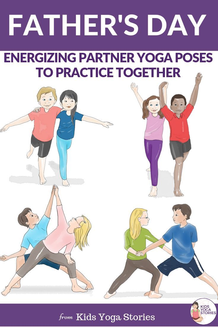 Father's Day Yoga: Energizing Partner Yoga Poses to Practice Together