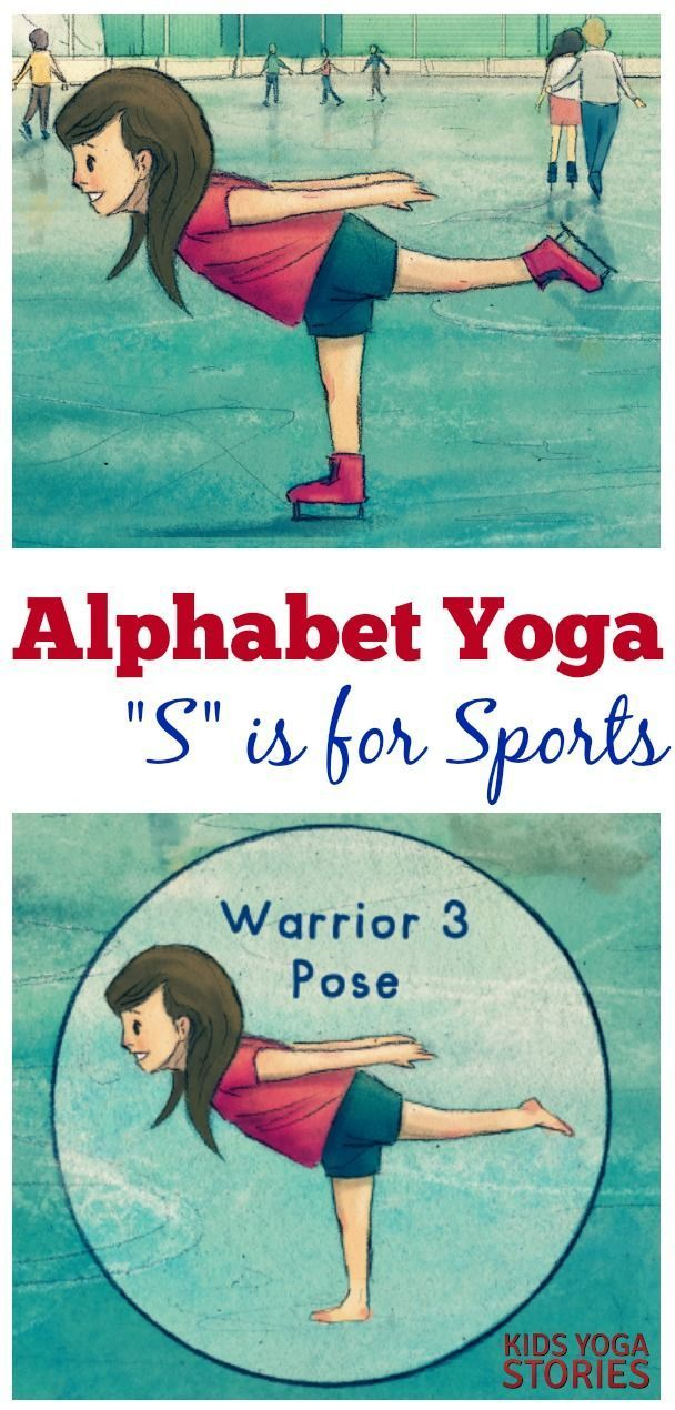 Sports Yoga for Kids: Act out Winter Activities Starting with an