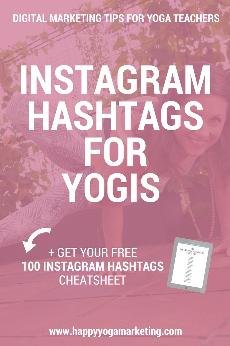Instagram Hashtags For Yogis
