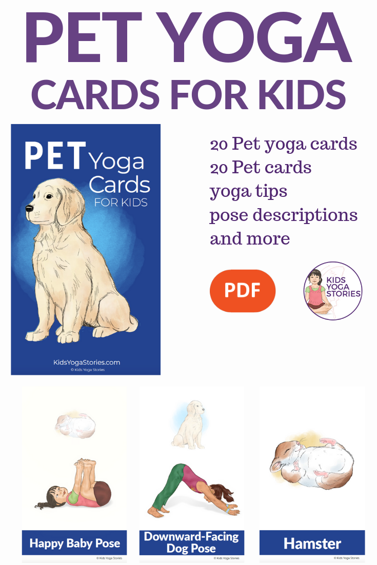 Have Fun with these 5 Pet Yoga Poses for Kids | Kids Yoga Stories