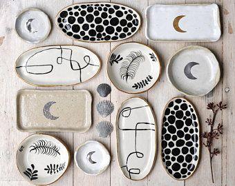Handmade Ceramics by LiquoriceMoonStudios on Etsy