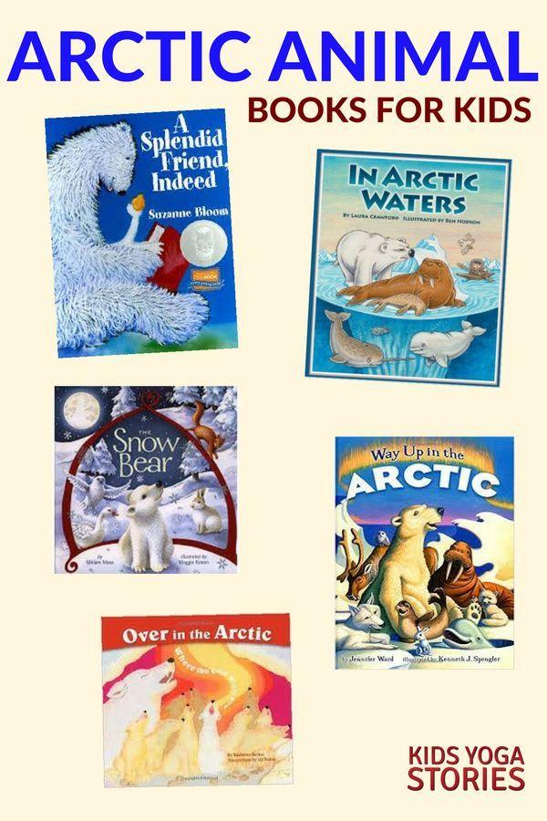 11 Arctic Animals Yoga Poses for Kids (+Printable Poster) - Kids Yoga Stories   Yoga resources for k