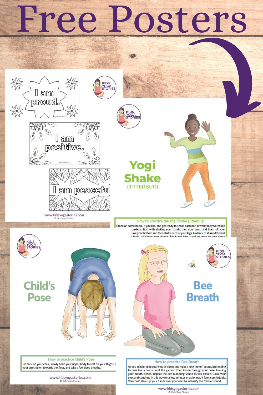 [FREE PRINTABLE] Help Students Manage Their Emotions with Breath + Movement