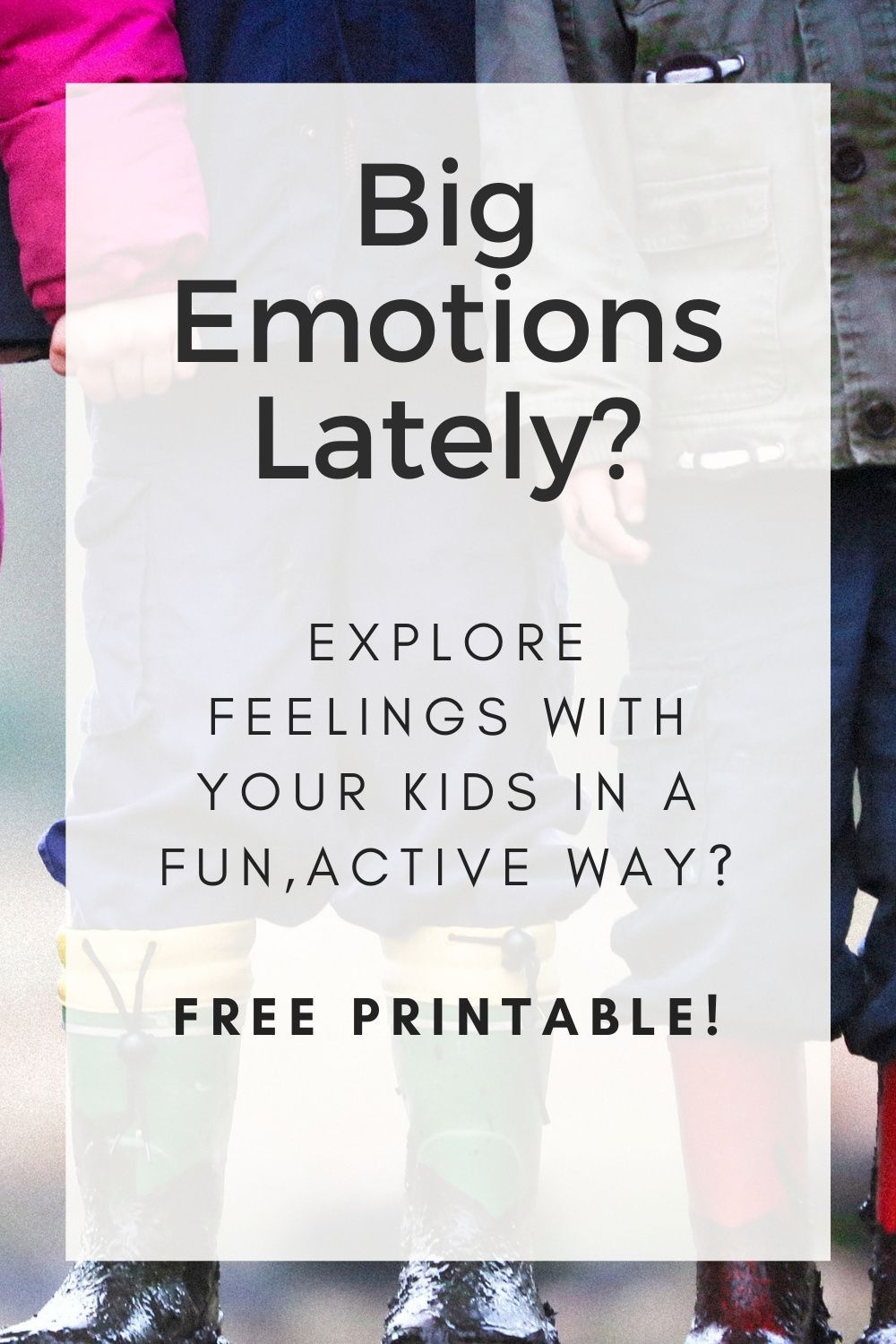 [FREE PRINTABLE] Help Your Kids Manage Their Emotions with Breath + Yoga