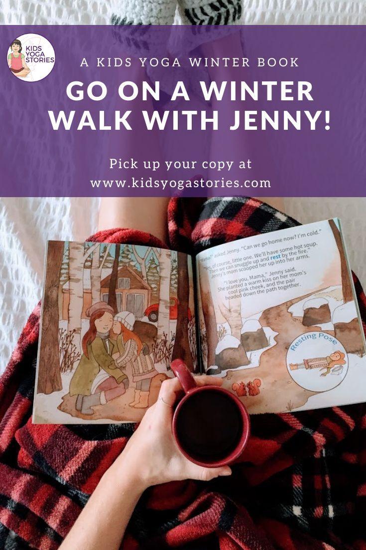 JENNY'S WINTER WALK - Kids Yoga Winter Book