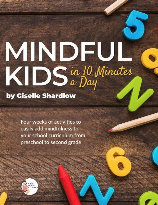 Mindful Kids in 10 Minutes a Day: PreK-2nd Grade (Workbook Only)