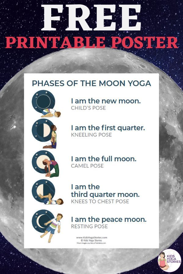 Phases of the Moon Yoga | Kids Yoga Stories