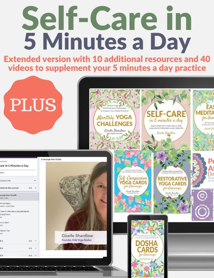 Self-Care in 5 Minutes a Day